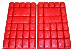 5 Paar Engelbert Strauss Kniepolster Kniepad Rot Multipad 250x150x20mm B Ware