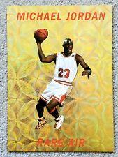 "New listing MICHAEL JORDAN 1993-94 ""RARE AIR"" Gold Prizm PROMO #ED /10,000 Basketball Card"