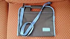 Calligraphy Carryall folding storage case with adjustable strap
