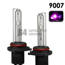 2X NEW HID XENON HB5 9007 Headlight Replacement Bulbs AC 35W 12000K Pink Purple