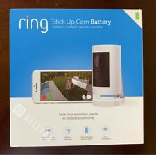 Ring Stick Up Cam Battey Indoor/Outdoor Security Camera Wire Free