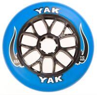 2-Pack 110mm Inline Skate Wheels, Indoor-Outdoor Rollerblade Speed Fitness 88A