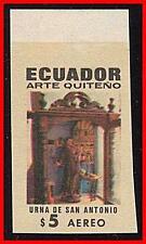 Équateur 1971 St.Anthony Imperforé @@Preuve@@ Sc#C479v MNH Religion (K-J18)
