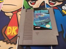 NES Silent Service Nintendo Entertainment System 1989 Video Game Free Shipping