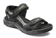 Men's ECCO  Yucatan Sandal Leather Black/Mole/Black 069564 50034