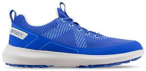 FootJoy FJ Flex XP Golf Shoes 56252 Blue Waterproof Men's New