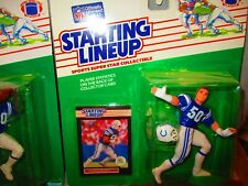 1989 STARTING LINEUP  SLU  NFL #50 DUANE BICKETT Indianapolis Colts FIGURE 🔥