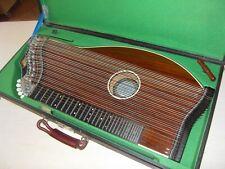 schöne alte Zither Luftresonanzzither Konzertzither A. Meinel mit Tonabnehmer