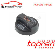 ENGINE OIL FILLER CAP TOPRAN 108 232 I NEW OE REPLACEMENT