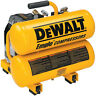DEWALT 1.1 HP 4 Gal. Oil-Lube Hand Carry Air Compressor D55151R Reconditioned