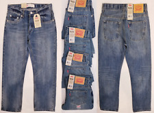 Levi's 505 Slim & Regular Fit Boys Jeans  8Reg 10Reg 12Slim 12Reg 14Slim 18Reg