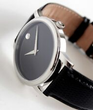 NEW WITH TAGS, MOVADO Men's Watch, MUSEUM Model, MO.01.1.14.6000, Full 40mm
