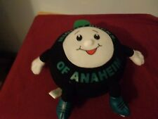 NHL MIGHTY DUCKS OF ANAHEIM HOCKEY PUCK PLUSH DOLL FIGURE MASCOT