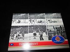 BILL WHITE AUTOGRAPHED 1991 FUTURE TRENDS 1972 CANADA CUP THE MOMENT CARD