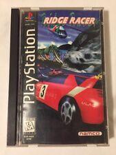 Ridge Racer (PS1 PSX PlayStation 1 PSOne, 1995) Complete CIB Long Box FREE SHIP