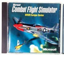 Microsoft Combat Flight Simulator WWII Europe Series PC w Enhanced Files CD 1998