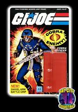 ~1983 G.I. Joe / Cobra ~ Cobra Officer (Swivel Arm) Restoration cardback kit!
