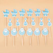 18Pcs Cake Decoration Plugin Water Droplets Boy Plugin Birthday Party Supplies