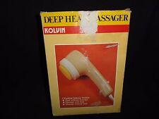 KOLVIN - Deep Heat Massager with Attachments.