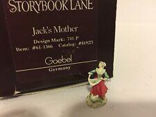 Goebel Robert Olszewski Storybook Lane Jack & the Beanstalk Jack's Mother Mint