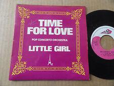 "DISQUE 45T DE POP CONCERTO ORCHESTRA  "" TIME FOR LOVE """