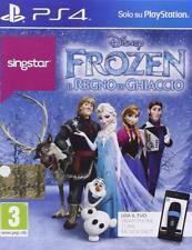Singstar Frozen Disney Ps4 Playstation 4 Sony Computer Entertainment
