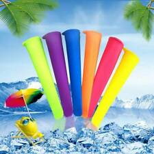 6Pcs Silicone Popsicle-Mold Ice Cream Pop Makers Freezer Ice Cream Maker Mold