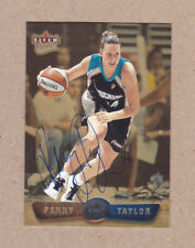 Penny Taylor signed 2002 Fleer Ultra Gold Medallion card #44 Cleveland Rockers