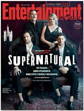 EW Entertainment Weekly NEW 2019 Supernatural Family Reunion Group Cover