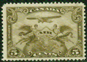 CANADA– 1928– #C1  AIRMAIL- F-VF*