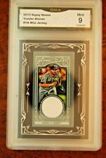 GRADED BASEBALL CARD 2013 GYPSY QUEEN YONDER ALONSO MINI JERSEY SP MINT 9