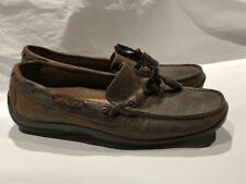 Donald J Pliner Women's Leather Driving Loafers Slip On Sz 7 1/2""