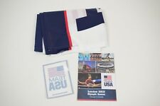 Wincraft Team USA 2'x3' flag and decal + London 2012 Olympics guide