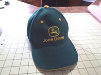 John Deere Hat Cap Adjustable Green & Yellow