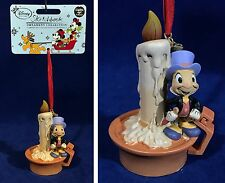 New - JIMINY CRICKET Light Up Candle DISNEY SKETCHBOOK ORNAMENT 2015 Pinocchio