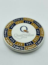 Quail Hollow Club NC Magnetic Golf Ball Marker Coin Yardages Medallion Members