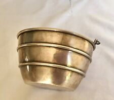 Antique American Reed & Barton Solid Sterling Silver Ice Bucket Wine Cooler Pail