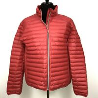 HUNTER Men's Jacket Mid Layer Micro Puffer Coat Military Red Size XXL NEW $150