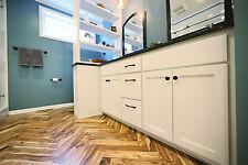 "Herringbone Acacia Walnut Natural 3/4"" x 3"" x 17.7"" Hardwood Flooring Sample"