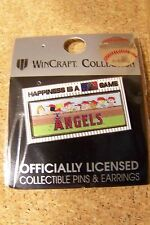 2014 Peanuts Happiness is a MLB Game pin - LA Los Angeles Angels of Anaheim