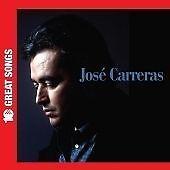 Jose Carreras-10 Great Songs CD   New