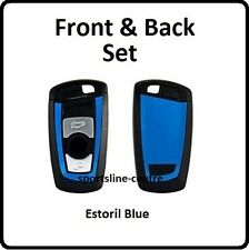Estoril Blue BMW Key Vinyl Wrap Sticker F30 F35 F20 F10 F18 F07 1 3 4 5 M Series