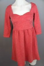 Women's size small Little Lies red dress 3/4 sleeve warm for winter