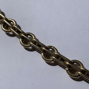 """9ct Yellow Gold Chain Necklace 18"""" Long 46.2 Grams"""