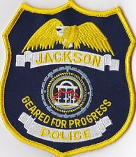 Jackson Police patch Georgia GA  NEW !!