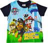 Boys Paw Patrol T-Shirt 100% Cotton Summer Tshirt Top
