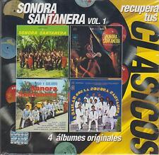 CD - Sonora Santanera VOL.1 NEW Recupera Tus Clasicos 4 DISC SET FAST SHIPPING !