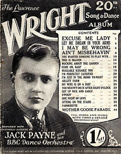 SHEET MUSIC - THE LAWRENCE WRIGHT 20th SONG & DANCE ALBUM - JACK PAYNE ( (1929)