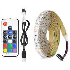USB LED TV Hintergrund Beleuchtung Streifen 2m Farbwechsel einstellbar