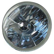 "Crystal 7"" Halogen Head lights MGB MGC H4 lamps round upgrade midget lucas MG B"